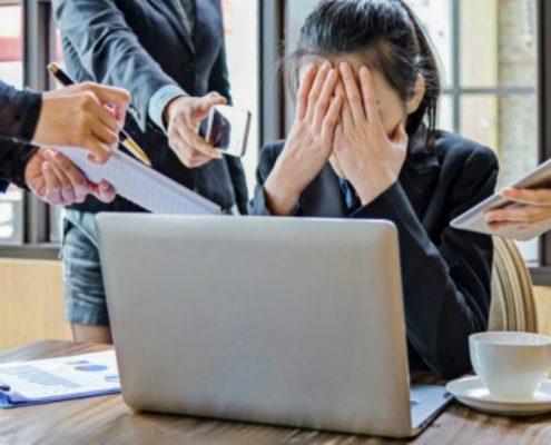 Verminderen van werkstress